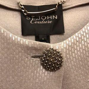St John Couture long jacket NWT